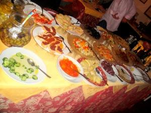 Antipasti Table